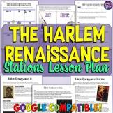 Harlem Renaissance Stations Lesson Plan