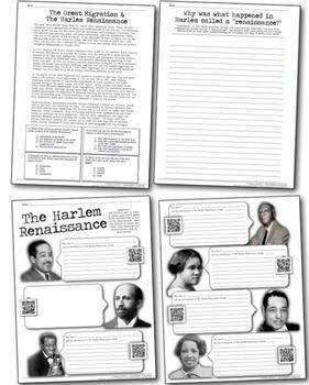 Harlem Renaissance: Students Investigate Great Migration & Harlem Renaissance!