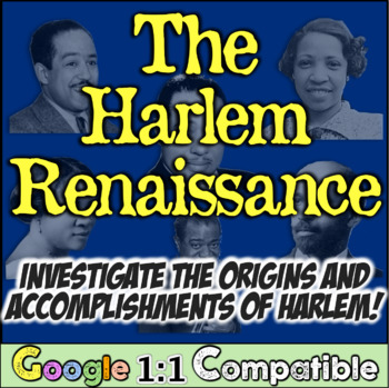 Harlem Renaissance: Students Investigate Great Migration &