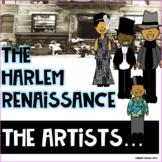 Harlem Renaissance- The Artists