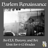 Harlem Renaissance Unit: History, Language Arts, and the Arts