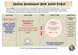 Harlem Renaissance Writers Bookjacket Project