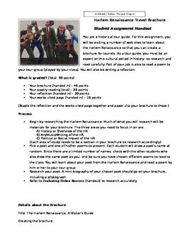 Harlem Renaissance research project