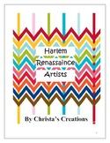 Harlem Renassaince Artists History & Activities Unit