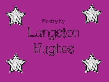 Harlem Renissance Poetry by Langston Hughes