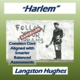 """Harlem"" by Langston Hughes: Poem, Questions, & Key"