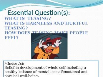 Harmless and Hurtful Teasing