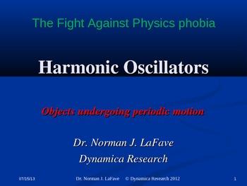 Harmonic Oscillators