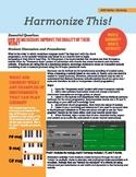 """MIDI Series: Harmony - """"Harmonize This!"""""""