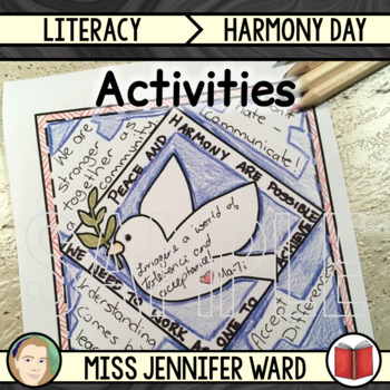 Harmony Day Worksheets