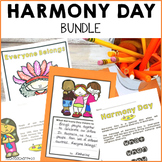 Harmony Day Activities Bundle Flip Book Colouring Pages Signs Craft Worksheets