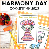 Harmony Day Week Activities Colouring Pages