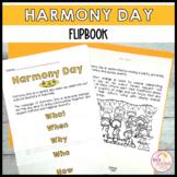 Harmony Day Week Activities Flip Book