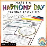 Harmony Day & Harmony Week Activities: Years 5 - 6 Cultura