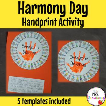 Harmony Day Activity