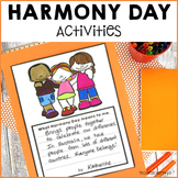 Harmony Day Activities cultural diversity classroom wall d