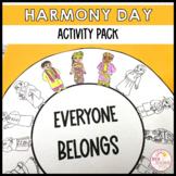 Harmony Day Week Activities