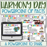 Harmony Day PowerPoint of Facts