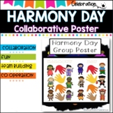 Harmony Day COLLABORATIVE POSTER project.