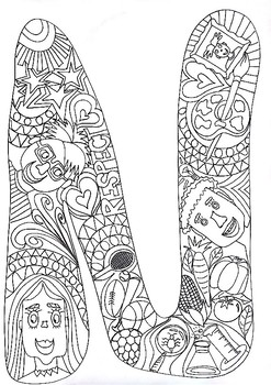 Harmony Day Colouring Project
