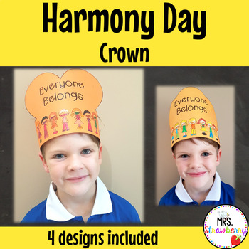 Harmony Day Crown Activity
