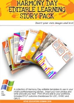 Harmony Day Editable Pack