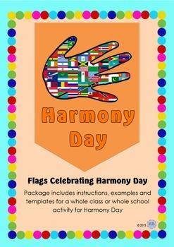Harmony Day Everyone Belongs Celebration Flags - Cultural Diversity, Tolerance