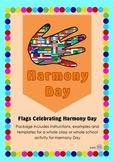Harmony Day Everyone Belongs Celebration Flags - Cultural