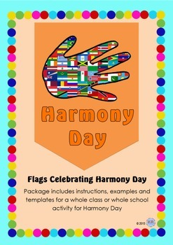 Harmony Day Everyone Belongs Celebration Flags - Cultural