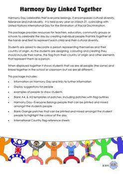Harmony Day Everyone Belongs Celebration People - Cultural Diversity, Tolerance