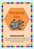Harmony Day Everyone Belongs Celebration Quilt - Cultural Diversity, Tolerance