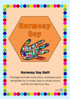 Harmony Day Everyone Belongs Celebration Quilt - Cultural Diversity, Tolerance