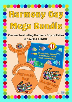 Harmony Day MEGA BUNDLE package - Cultural Diversity, Tolerance, Unity