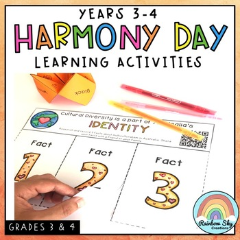 Harmony Day Activities - Years 3 - 4 Cultural diversity, tolerance