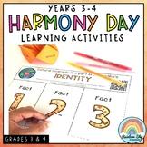 Harmony Day & Harmony Week Activities: Years 3 - 4 Cultura