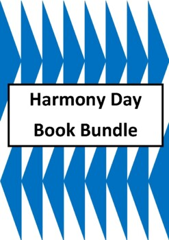 Harmony Day Picture Book Bundle - Worksheets for 10 Picture Books