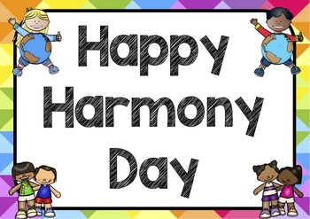 Harmony Day Posters