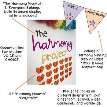 The Harmony Project - Cultural Diversity - Year 3 HASS {Harmony Day}