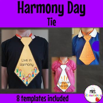 Harmony Day Tie Activity