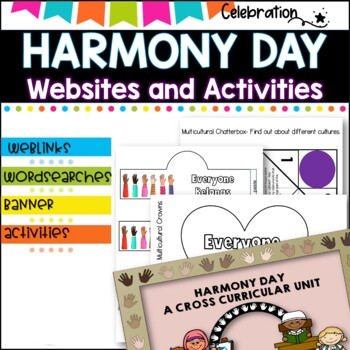 Harmony Day and Multicultural Cross Curricular Unit k-6
