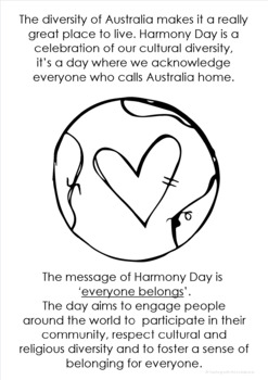 Harmony Day celebrating our diversity