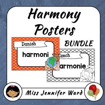 Harmony Posters BUNDLE