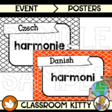 Harmony : Language Posters : BUNDLE