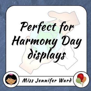 Harmony Posters (Blackline)