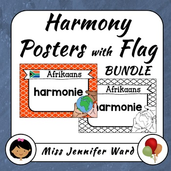 Harmony Posters with Flags BUNDLE