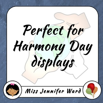 Harmony Posters with Flags