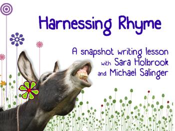 Harnessing Rhyme: A FUN lesson in writing quatrains