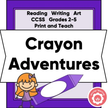 Writing A Fictional Story: Harold And The Purple Crayon