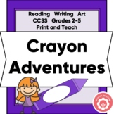Writing Fiction: Harold And The Purple Crayon