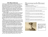 Harold Lowe - officer on Titanic